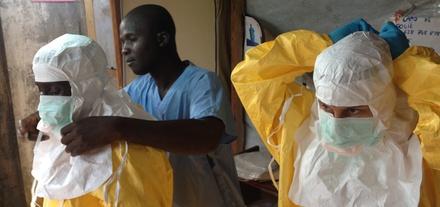 Ebola victim actors in NY