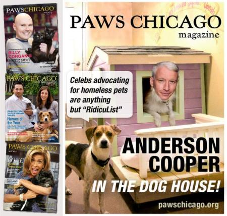 Anderson Cooper Paws Chicago