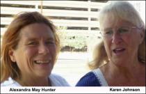Alexandra May Hunter and Karen Johnson