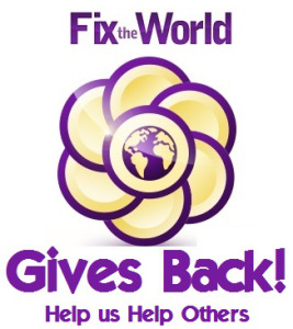 FTW Gives back Logo