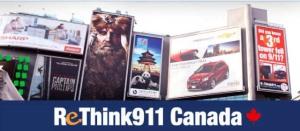 Rethink 911 Canada Header